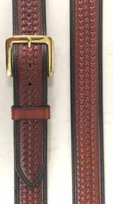 All of our belts are bench made by hand using the finest USA grade A leather in our saddle shop.