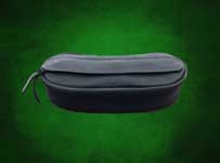This cantle bag is small enough to fit nicely  behind the cantle of your saddle but has enough room to hold a couple bottles of water. It measures 12
