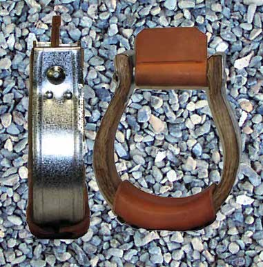 Galvinized Oxbow stirrups are available in 11/2