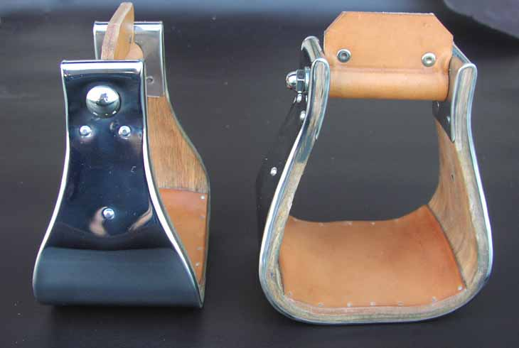 We stock monnel stirrups with a bottom tread an many sizes. The skulls are strong Nettles stirrups with a beautiful Monnel cover. Dress your saddle up today with a new pair.