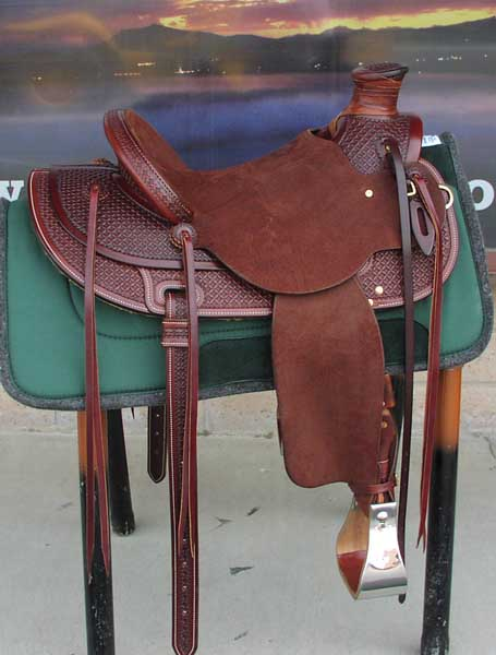 This TIPS Wade saddle is in stock and ready for you to enjoy. It has a 15