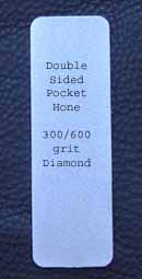 Double Sided Diamond Hone