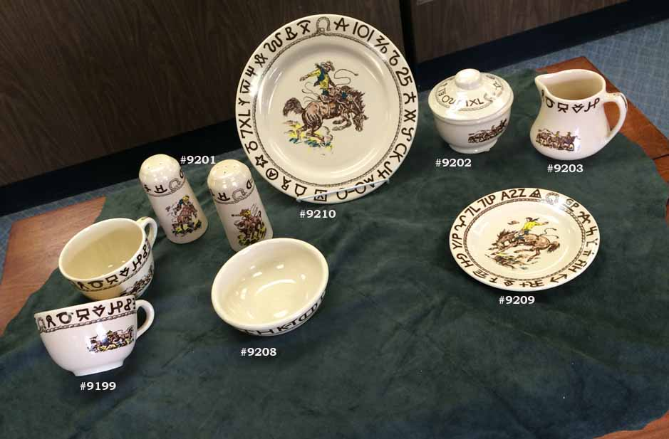 Rodeo Pattern China. Heirloom China of the future.